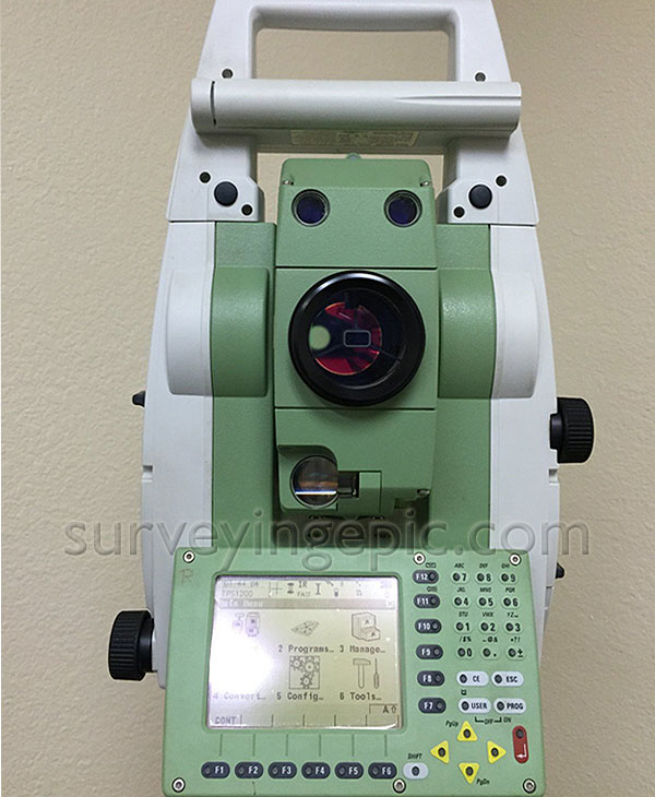 Total Station Leica 1203 Manual